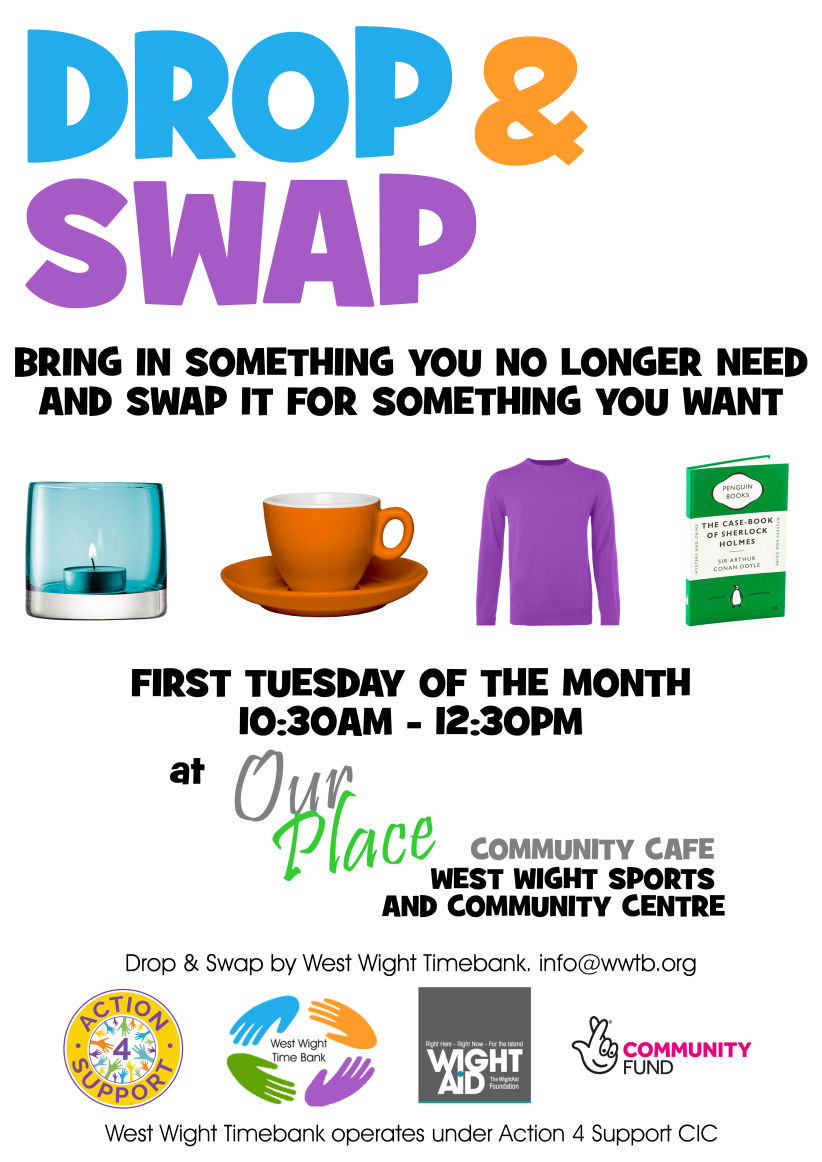 Drop and Swap poster